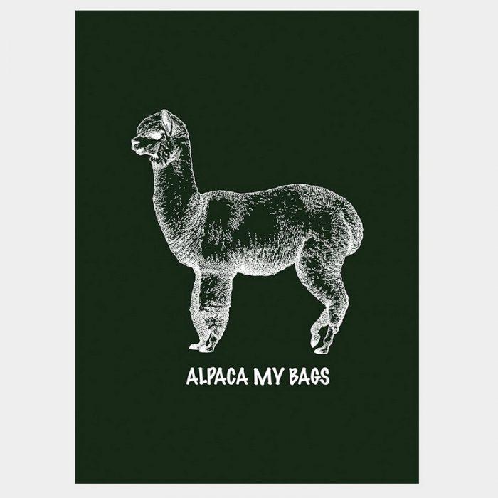 Alpaca My Bags Poster