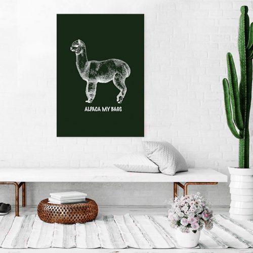 Alpaca Poster Room