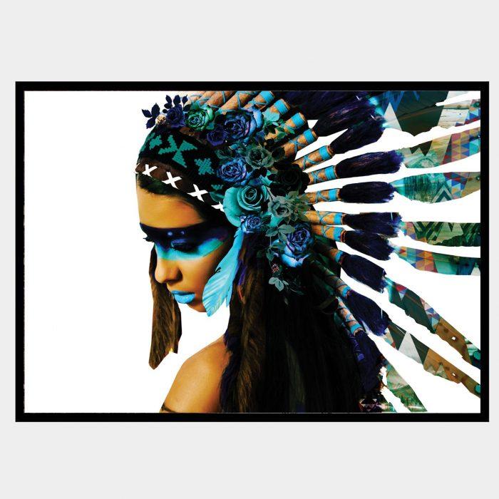 Aqua Warrioress Black