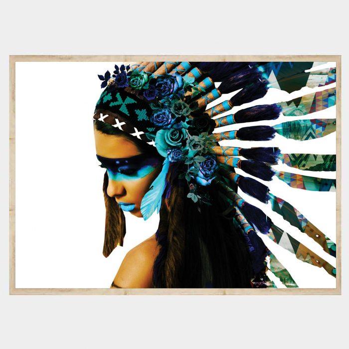 Aqua Warrioress Falt Natural