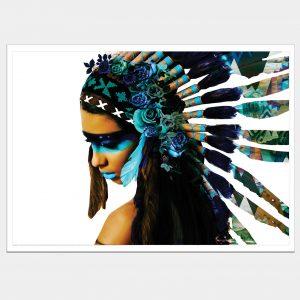 Aqua Warrioress White