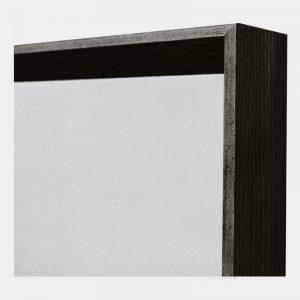 Black Arched Mirror - Close Edge