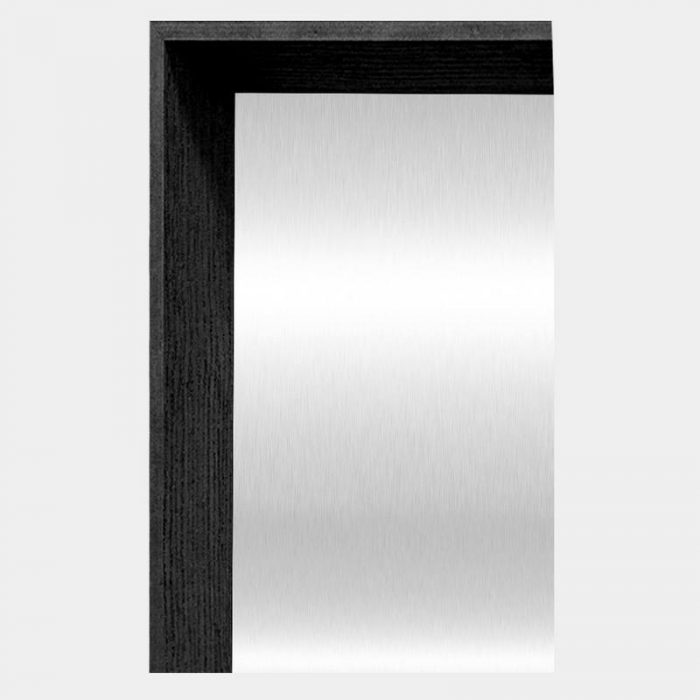 Black Arched Mirror - Corner