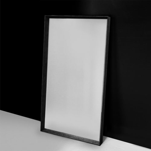 Black Arched Mirror - Main