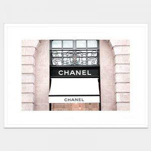 Chanel Window - Flat Matte White