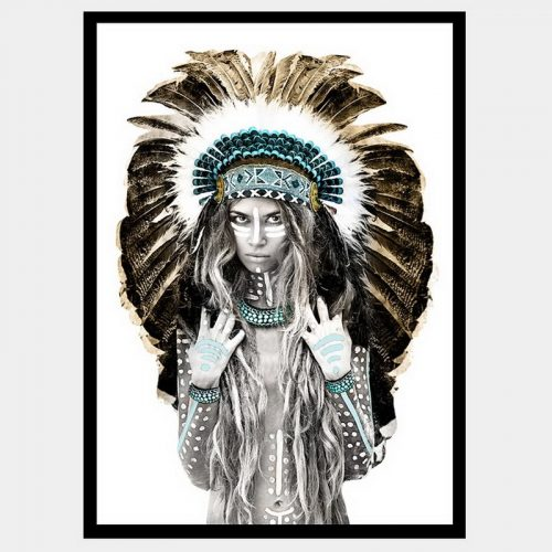 Copper Princess - Flat Matte Black