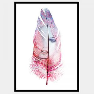 Dreamscape Pink - Flat Matte Black