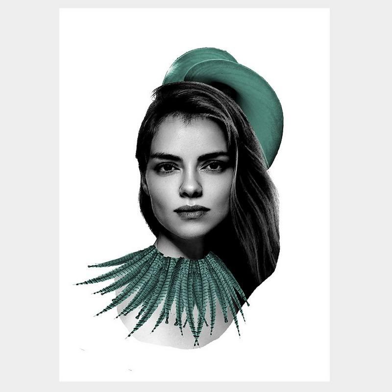 Elegant Elise Poster Iconiko