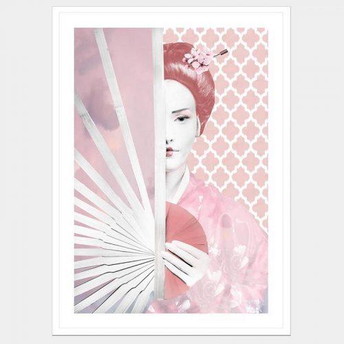Geisha Memories - Flat Matte White