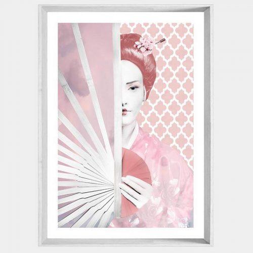 Geisha Memories - White Angled