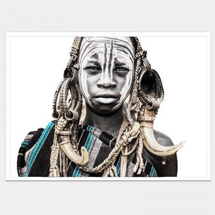 Ghana Son - Flat Matte White