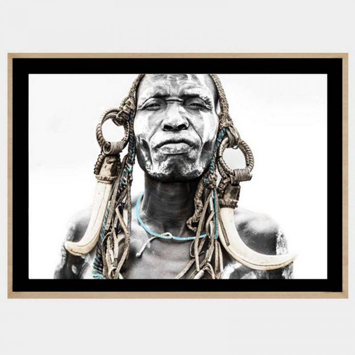 Ghana Warrior - Boutique Gloss Black