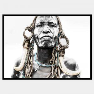 Ghana Warrior - Flat Matte Black