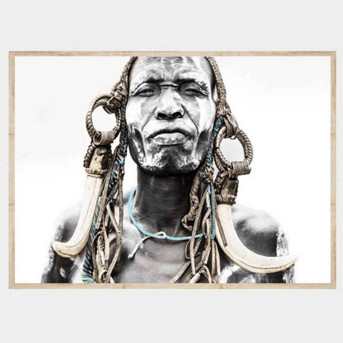 Ghana Warrior - Flat Natural