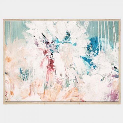 Grace Canvas - Natural Box Frame