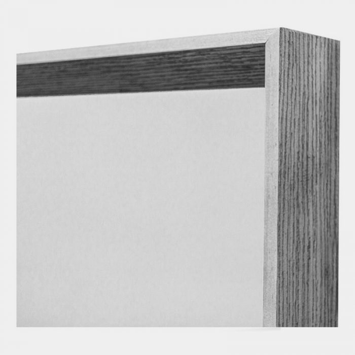 Grey Arched Mirror - Close Edge