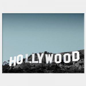 Hollywood Blue Canvas - No Frame