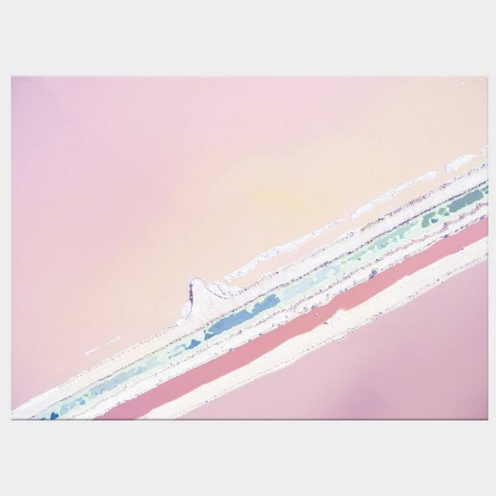 Ice Cream Seas Canvas - No Frame