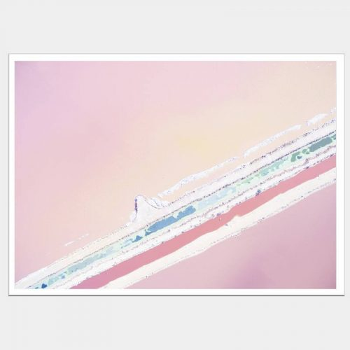 Ice Cream Seas - Flat Matte White