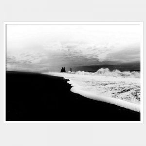 Iceland Sands Canvas - White Box Frame