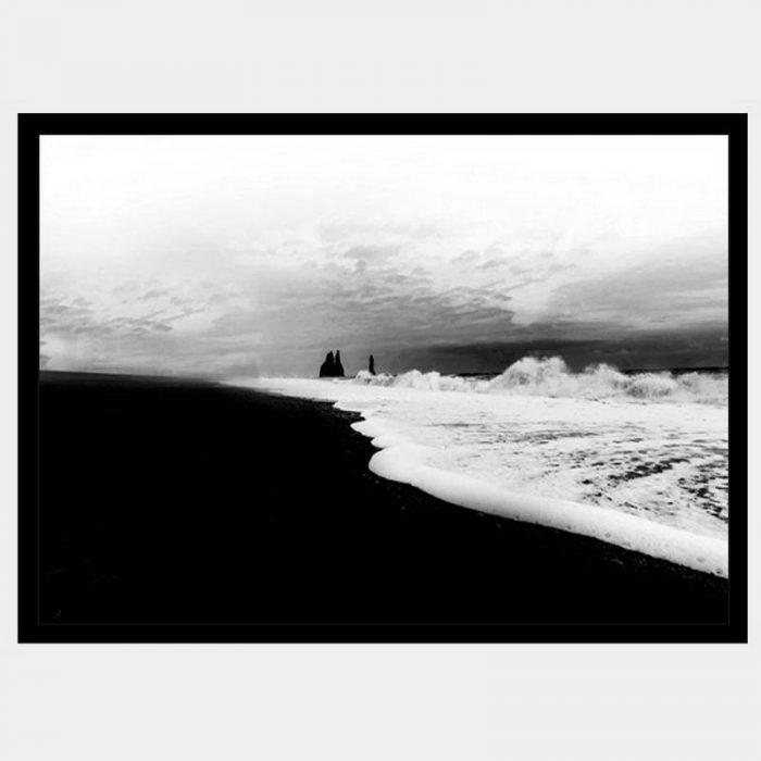 Iceland Sands - Flat Matte Black