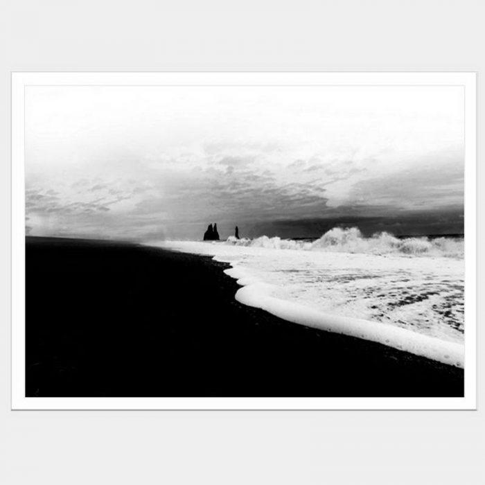 Iceland Sands - Flat Matte White