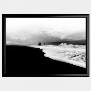 Iceland Sands - Gloss Black