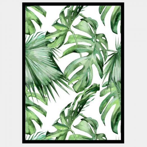 Jungle Vines - Flat Matte Black