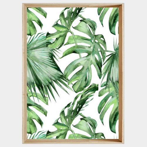 Jungle Vines - Soft Natural Angled