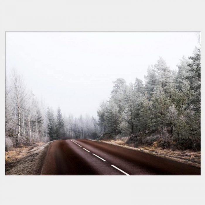 Long Road Canvas - No Frame