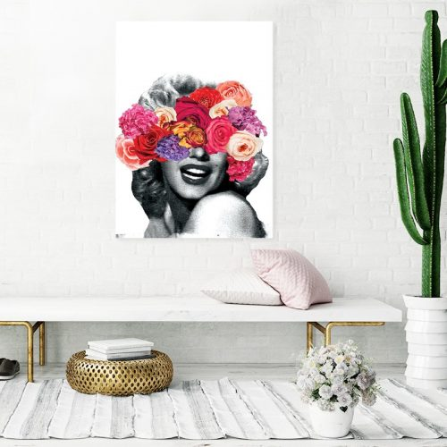 Marylin Floral Poster Room