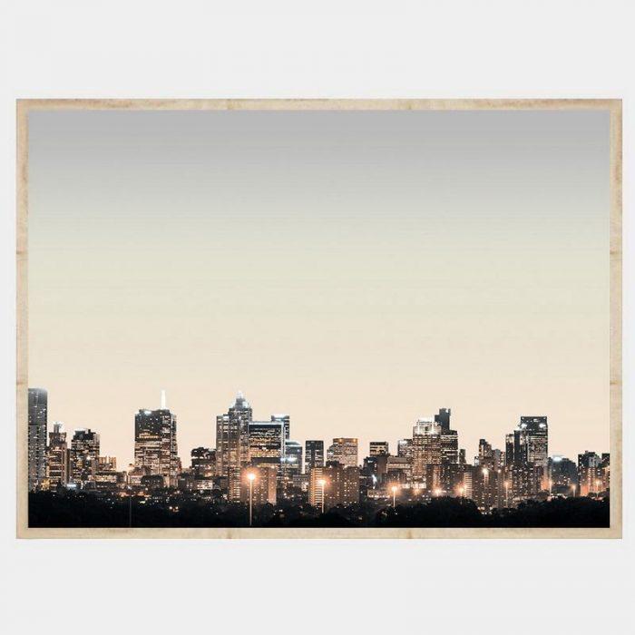 Melbourne Lights - Flat Natural
