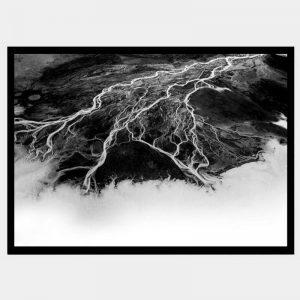 Midnight Veins - Flat Matte Black