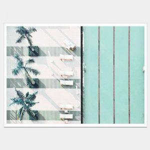 Mint Pools - Flat Matte White