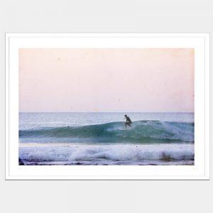 Ocean Escape - Flat Matte White