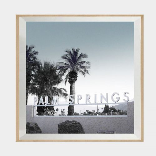 Palm Springs Sunrise - Boutique Gloss White