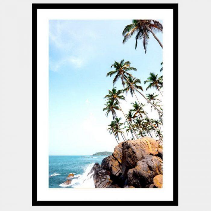 Paradise Cliffs - Flat Matte Black