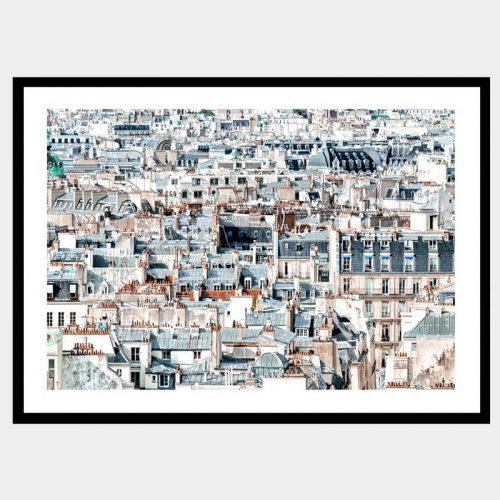Romantic City - Flat Matte Black