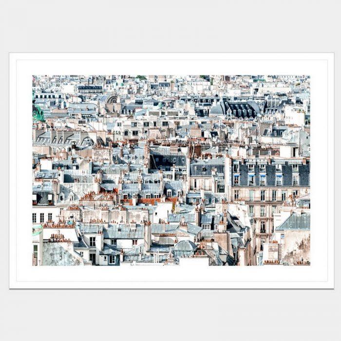 Romantic City - Flat Matte White