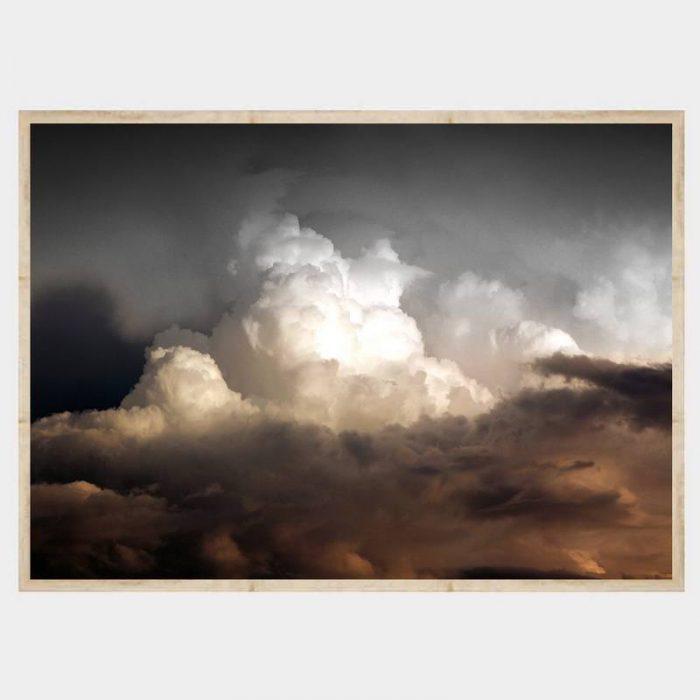 Rustic Clouds - Flat Natural