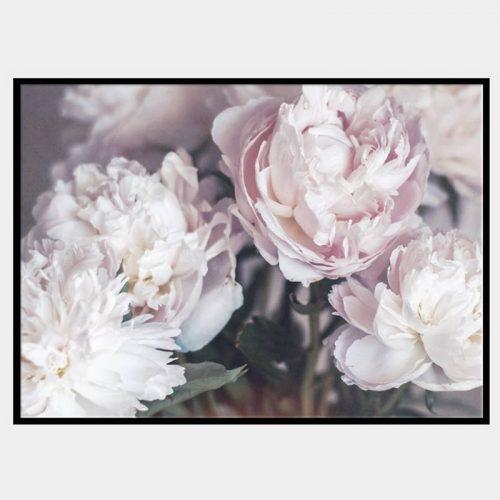 Serene Bunches Canvas - Black Box Frame