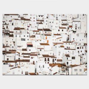 Spanish Village Canvas - No Frame