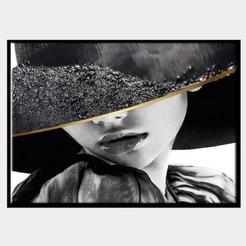 Tabatha Canvas - Black Box Frame