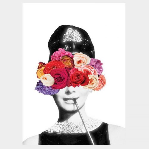 Tiffany Floral Poster