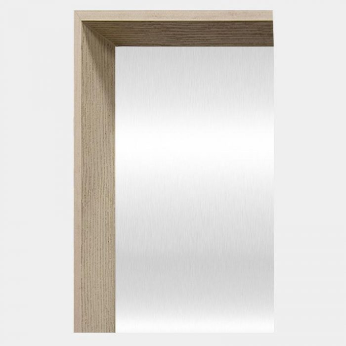 Timber Arched Mirror - Corner