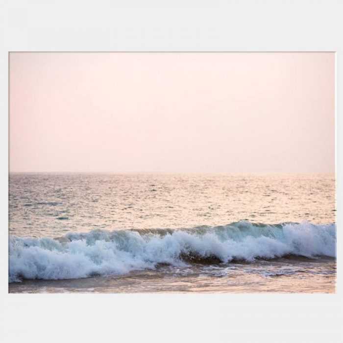 Tranquil Surf Canvas - No Frame