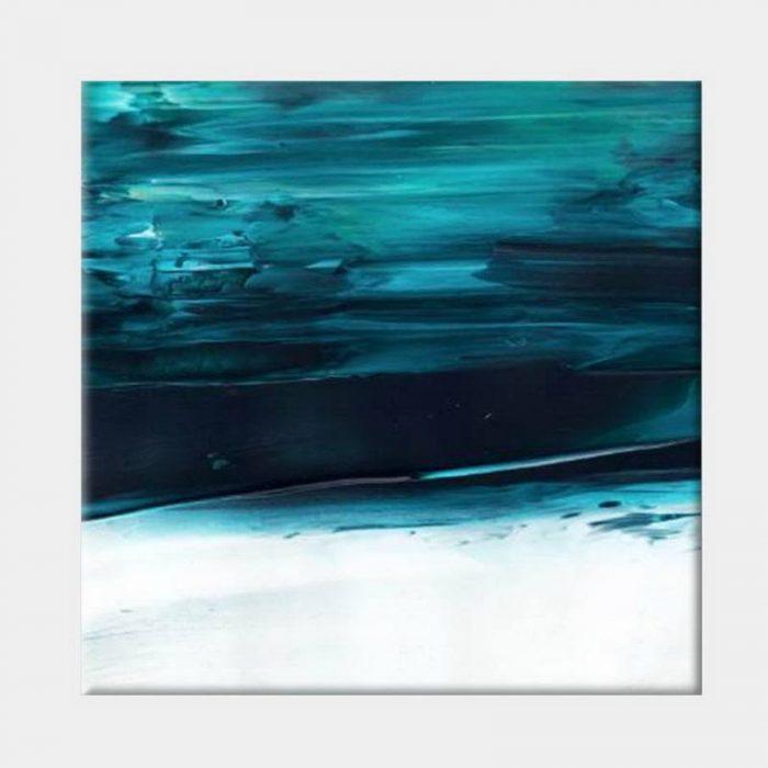 Under Water Blue Canvas - No Frame