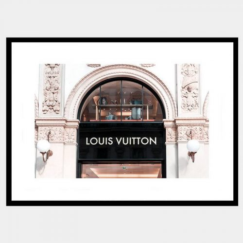 Vuitton Window - Flat Matte Black