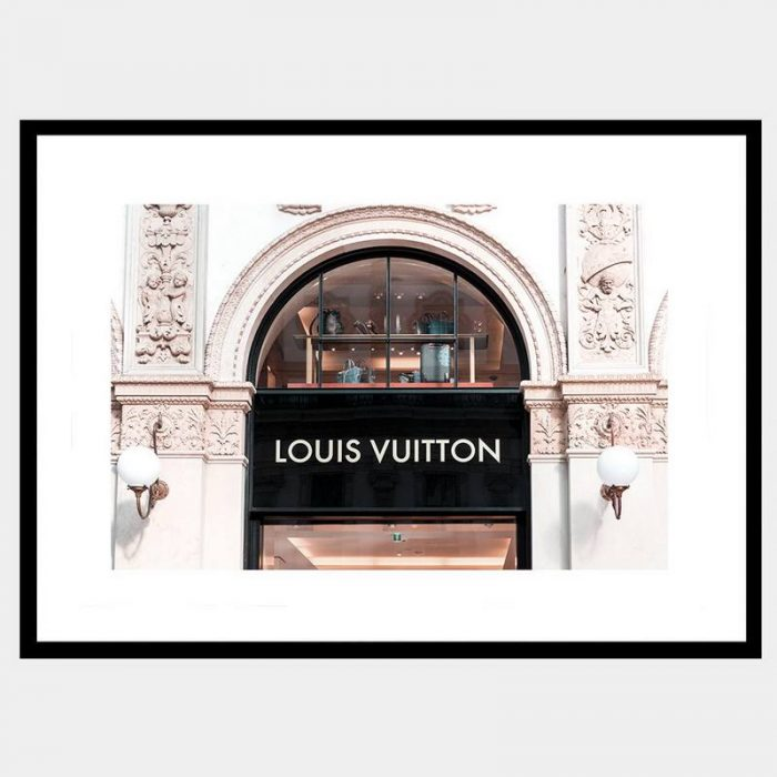 Vuitton Window - Flat Matte Black