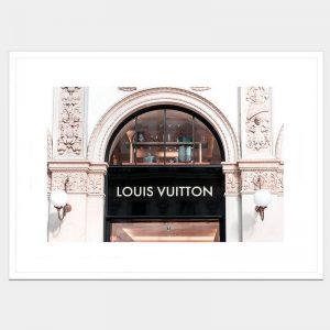 Vuitton Window - Flat Matte White